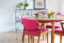 LIVE IN PINK / pink hued rooms we love