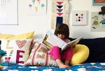 mommy shorts | summer house shared bedroom / by The Land of Nod
