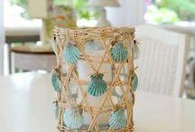 Decorazioni con le conchiglie / Shells DIY decor / Tante idee per decorare con le conchiglie: un'attività semplice e divertente, perfetta per donare un tocco di freschezza alla casa in occasione della stagione estiva