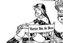 Hurray for HOLLYWOOD / The Warrior Nuns are going to Tinsletown