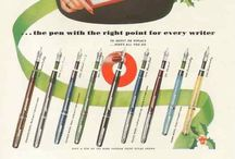 Fountain & dip pens / A bunch of stuff about fountain and dip pens. Neat ads, how-to's, etc.