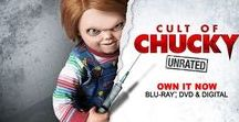 """Chucky (Child's Play) / Charles Lee Ray (also known as """"The Lakeshore Strangler"""", and nicknamed """"Chucky"""") is a character and the titular antagonist of the Child's Play horror film series. Chucky is portrayed as a notorious serial killer whose spirit inhabits a fictional """"Good Guy"""" doll and continuously tries to transfer his soul from the doll to a human body.  In 1999, the Chucky character was nominated for the MTV Movie Award for Best Villain for the film Bride of Chucky."""