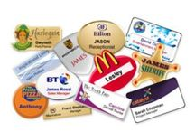 Name Badges / Name Badges are an essential item in today's world. #communication #branding #customerservice #identity #wemakeitpersonal Simoney is the place to come for all your badges and identification products.