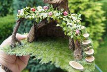 Fairygardens, fairyhouses