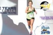"""Texas 13.1 Race Series / Join Race Texas for three unique half marathons spanning the great state of Texas. Run the West in San Angelo Texas, battle the East in Nacogdoches,the oldest town in Texas, and finish the series in College Station, Texas and """"Do The Dash"""" at the Armadillo Dash!"""