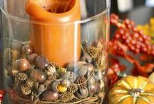 Fall into Fall / We love the Fall and we wanted to create a collection of DIY projects, recipes, and pictures that remind us why we love the fall so much