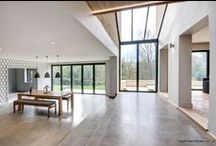 Colesbourne 2014 / Bi-folding Doors, Tilt & Turn Windows, Glass Link, Balcony and Front Door