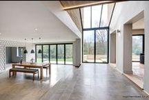 Colesbourne 2014 / Bi-folding Doors, Tilt & Turn Windows, Glass Link, Balcony and Front Door