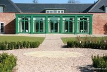 Wellesbourne 2006 / Orangery at Walton Hall; this was a design and build taking 7 weeks onsite to complete. The colour was a planning decision. Regent was nominated for a civic award for the Orangery. Former home of Danny LaRue