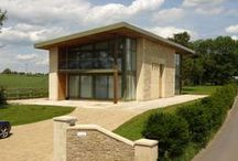 Leckhampton 2009 / This is a self-build house that Regent was involved in from the outset, even before planning was granted. Regent manufactured and installed 12 sliding patio doors and curtain walling. Regent also installed all the aluminium cladding and staircase.