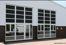 Worcester  2004 / PVCu Curtain Walling we did on a number of industrial units for a developer and property owner. We were very pleased with the finished results, and more importantly, so was he!