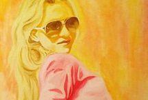 Portraits / Oil painting
