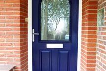 Germany 2015 / 6 composite doors and a few windows fitted in Germany