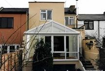 Tivoli 1999 / A white upvc conservatory built at first floor level