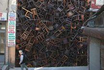 Streetart, installations