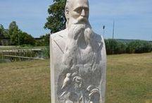 Herman Ottó / Herman Ottó szobor Agárd