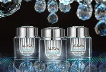 DIAMOND GLOW / Three, one-of-a-kind, exclusive, Dead Sea Mineral and Diamond based formulas infuse skin with a burst of glowing vitality and the feeling of refined luxury to restore a luminous, ageless appearance. - See more at: www.ahava.com/face/diamond-glow