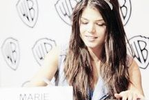 Marie Avgeropoulos/ Octavia Blake - The100 / The second child, miss Blake.