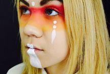 Avant Garde makeup / MUA Sarah Austin