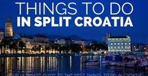 Things to do in Split, Croatia / All the fun, cultural, gastronomical and adventures thing you can do in Split which will make your visit memorable and unforgettable experience.