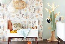 Kinderkamer behang | Deco Home / #Behang voor de #kinderkamer? Bij #DecoHome vind je een compleet assortiment #kinderkamerbehang #babykamer