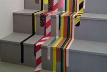 Creatief in huis / Leuke ideeën om thuis te maken. Van bijvoorbeeld #verf of #behang wat over is van een klus.