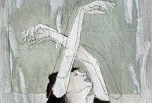 Art, Illustration & Textiles / by Hannah Blackwell