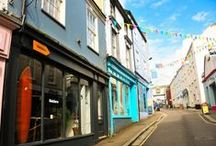 Falmouth Shops / Shop til you drop, get yourself some wonderful seaside inspired attire in the beautiful town of Falmouth.