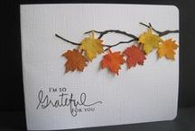 tvorímo jesenné pohľadnice...:--)