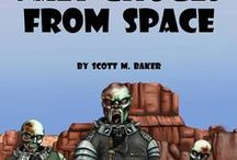 Nazi Ghouls From Space / Photos associated with my novella Nazi Ghouls From Space