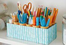 Ordenando con estilo / Mantén tu espacio limpio y ordenado con estos tips.