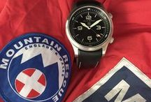 Mountain Rescue watch / Elliot Brown Canford 202-012, designed in partnership with Mountain Rescue England and Wales. 10% of the retail price is donated to Mountain Rescue to enable them to buy vital equipment that provides assistance to those in distress outdoors.
