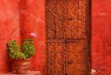 dvere dveře door to...