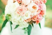floral design   blush tones / blush tones, sometimes with an added pop of color