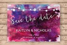 Wedding: Save the Date Ideas