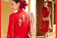 Suits,Sarees / Indian and Pakistani fashion.