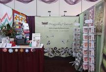 Quilt Market Booths 2013 Houston / Some of the exciting and wonderful booths from Quilt Market!  Such amazing inspiration!  I couldn't photograph all of them but the eye candy was endless! / by Dragonfly Fiberart Pattern Company