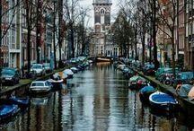 """""""Mijn"""" Amsterdam  / Oude en nieuwe beelden van Amsterdam  / by Lida van der Voorst"""