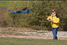 Airplanes / Real, plastic models, and radio control (R/C) airplanes.