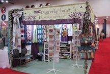 Quilt Market Houston 2014 / The sights and vendors at quilt market / by Dragonfly Fiberart Pattern Company