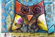 Artist: Lori Vafiades / Whimsical art by Colorado illustrator and public speaker, Lori Vafiades.