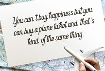 Wanderlust Travel Quotes / A place to store my favourite travel pictures and quotes.