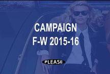 CAMPAIGN F-W 2015-16