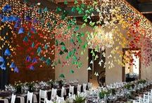 Table decorations and events