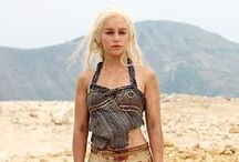 Game of Thrones / The greatest TV Series EVER and also the costumes - amazing!