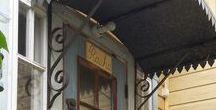 guesthouse / vanhan puutalon (majatalon) sisustusta ja puutarhanhoitoa. Old wooden house in Uusikaupunki