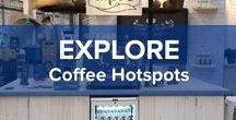 Coffee Hotspots / Is it the vibe, the atmosphere, the smell or all of it together that attracts us? Wherever you are in the world, visiting a cute cozy coffee place is always a good idea! Here you can find a list of our beloved coffee hotspots. Enjoy!