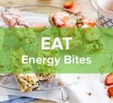 Energy Bites / We all know the feeling when it's still to early to have lunch, but breakfast is already behind us. We have what you need right here, right now: Energy Bites!