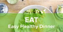 Easy Healthy Dinner / Someone once said: Eating is a necessity, but cooking is an art. Let us help you find your inner artist with these quick and easy recipes for your dinner party!