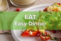 Easy Dinner / Sometimes you just don't feel like cooking at all, but you still crave something tasty. Precisely for busy people like you we've created some easy dinner recipes that won't hold you hostage in the kitchen.